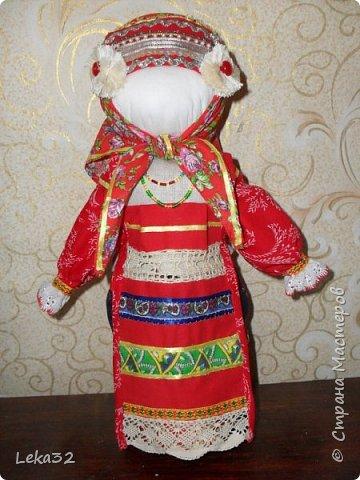 """Добрый день всем! Предлагаю Вашему вниманию две куклы-закрутки в так называемых """"межевых"""" костюмах. Этот костюмный комплекс существует на пограничных территориях Брянской и Калужской области.  фото 4"""