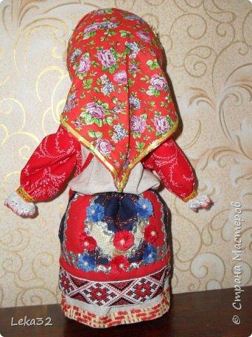 """Добрый день всем! Предлагаю Вашему вниманию две куклы-закрутки в так называемых """"межевых"""" костюмах. Этот костюмный комплекс существует на пограничных территориях Брянской и Калужской области.  фото 6"""