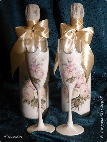 Мои любимые розочки / свадебный надор фото 7