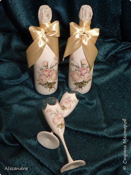 Мои любимые розочки / свадебный надор фото 10