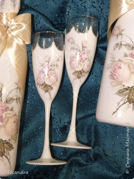 Мои любимые розочки / свадебный надор фото 12