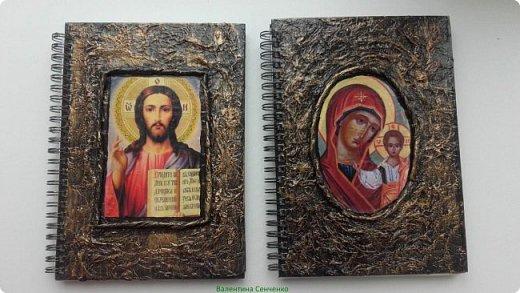 Насмотревшись блокнотов Мариэтты http://stranamasterov.ru/node/714454?c=favorite сделала в подарок такие блокноты фото 1