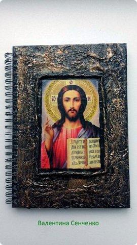 Насмотревшись блокнотов Мариэтты http://stranamasterov.ru/node/714454?c=favorite сделала в подарок такие блокноты фото 2