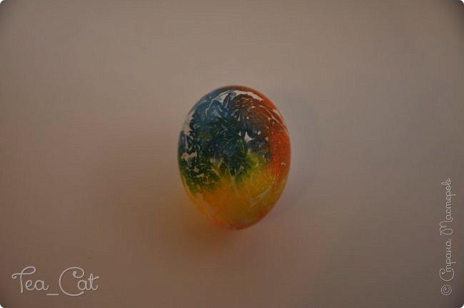 Доброго Времени суток, Жители Страны Мастеров. На кануне Пасхи я решила сделать красочные и яркие пасхальные яйца. И у меня получилось. Мне очень понравились их узоры. фото 4