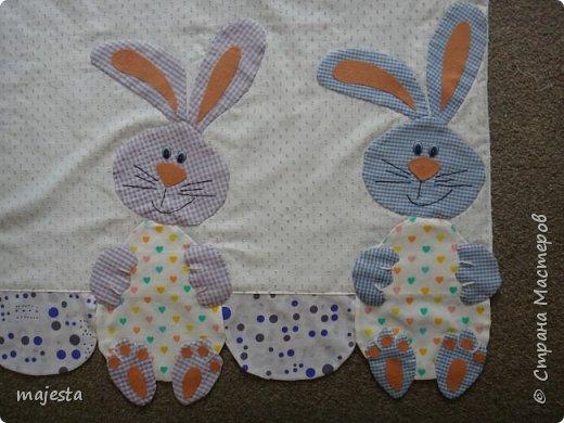 Это кроличьи занавески ( были подарены на кухонное окно старшему сыну) фото 3
