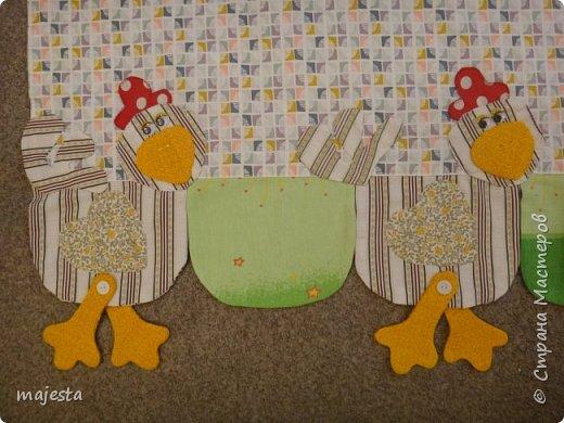 Это кроличьи занавески ( были подарены на кухонное окно старшему сыну) фото 7