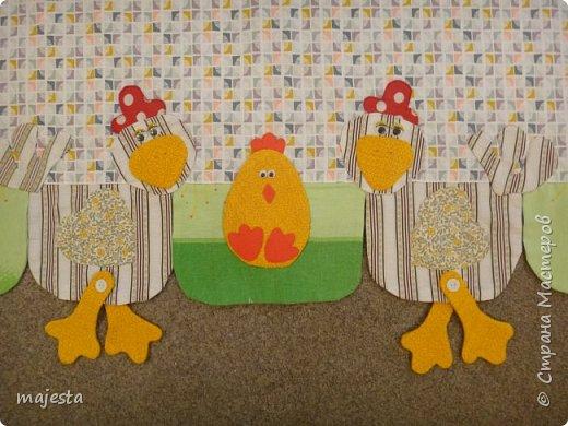 Это кроличьи занавески ( были подарены на кухонное окно старшему сыну) фото 6
