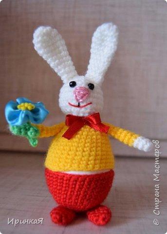 Вот такие зайчики радовали нас в праздник Пасхи фото 3