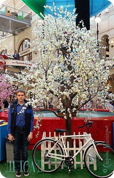 С 22 апреля в Москве открылся большой фестиваль «Московская весна», который продлится аж до самого 9 мая, совместив в себе и Пасху, и день Победы. фото 45