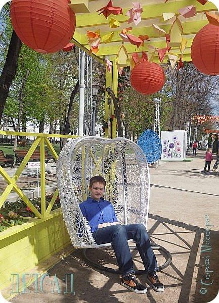 С 22 апреля в Москве открылся большой фестиваль «Московская весна», который продлится аж до самого 9 мая, совместив в себе и Пасху, и день Победы. фото 34