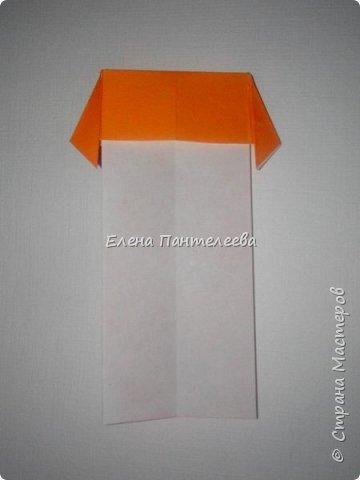 Предлагаю сделать аппликацию из фигурок оригами, гармонистов, с элементами рисования. фото 12