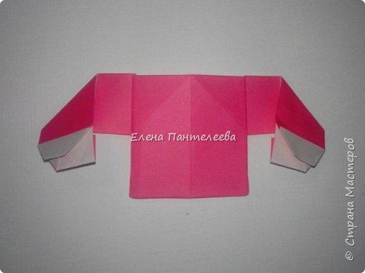 Предлагаю сделать аппликацию из фигурок оригами, гармонистов, с элементами рисования. фото 28