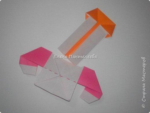 Предлагаю сделать аппликацию из фигурок оригами, гармонистов, с элементами рисования. фото 29