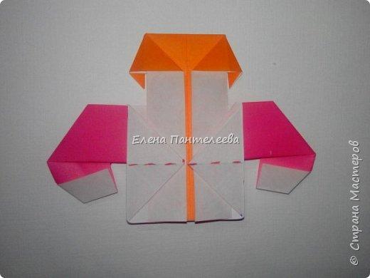 Предлагаю сделать аппликацию из фигурок оригами, гармонистов, с элементами рисования. фото 30