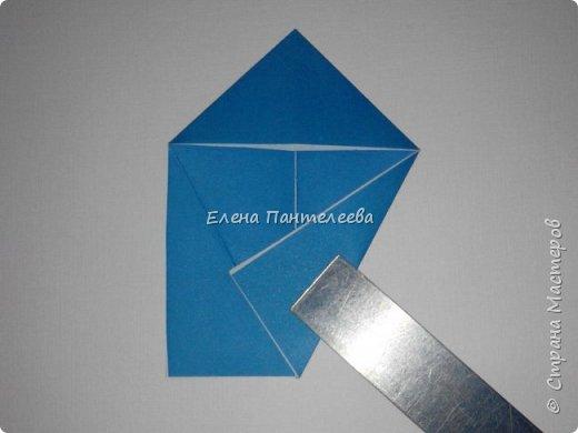 Предлагаю сделать аппликацию из фигурок оригами, гармонистов, с элементами рисования. фото 38