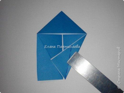Предлагаю сделать аппликацию из фигурок оригами, гармонистов, с элементами рисования. фото 39