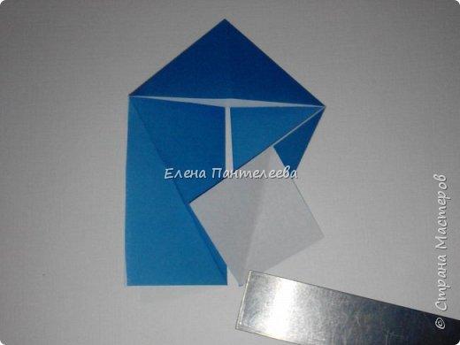 Предлагаю сделать аппликацию из фигурок оригами, гармонистов, с элементами рисования. фото 40