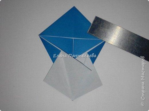 Предлагаю сделать аппликацию из фигурок оригами, гармонистов, с элементами рисования. фото 41