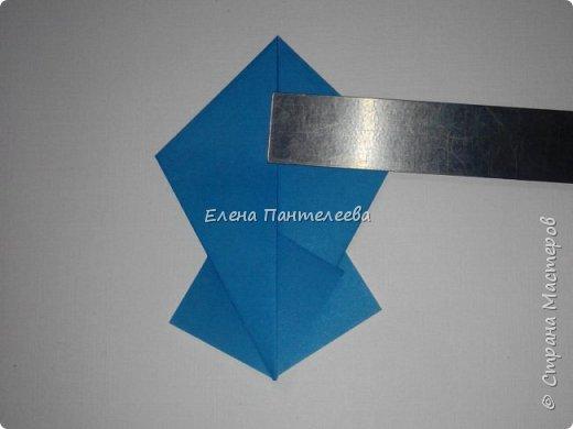 Предлагаю сделать аппликацию из фигурок оригами, гармонистов, с элементами рисования. фото 42