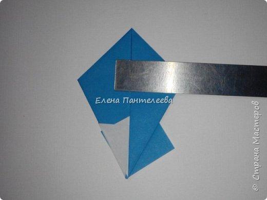 Предлагаю сделать аппликацию из фигурок оригами, гармонистов, с элементами рисования. фото 44