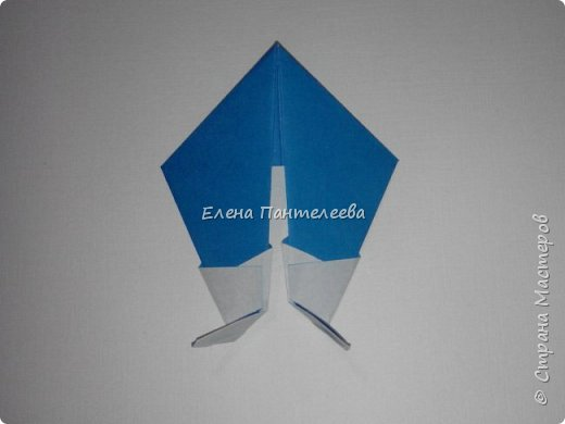 Предлагаю сделать аппликацию из фигурок оригами, гармонистов, с элементами рисования. фото 46