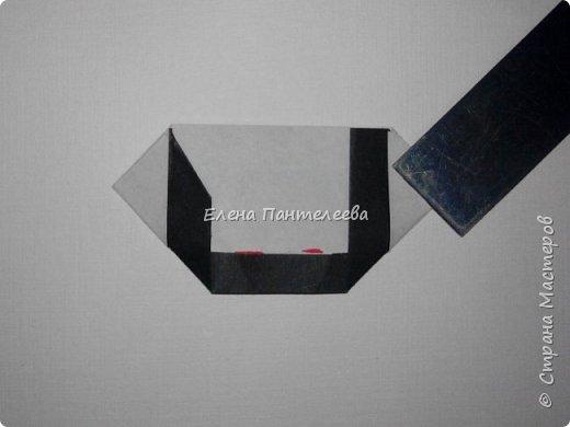 Предлагаю сделать аппликацию из фигурок оригами, гармонистов, с элементами рисования. фото 55