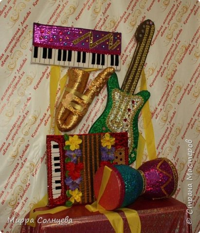 Поролоновые музыкальные инструменты фото 11