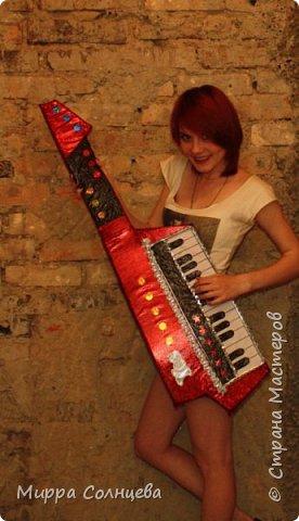 Поролоновые музыкальные инструменты фото 6