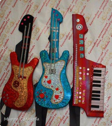 Поролоновые музыкальные инструменты фото 7