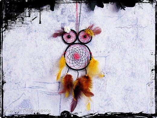 Ловец снов «Лесная сова» фото 2