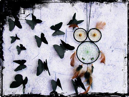 Ловец снов «Лесная сова» фото 4