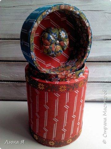 На подарки к праздникам изготовила шкатулки-игольницы фото 20