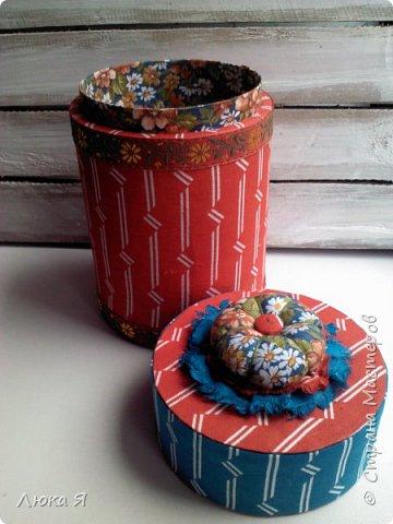На подарки к праздникам изготовила шкатулки-игольницы фото 21