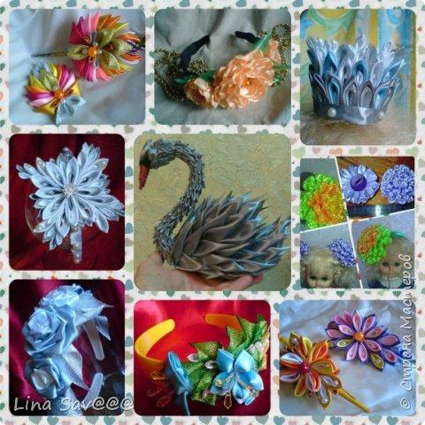 Мне очень понравилась техника изготовления цветов -канзаши! И я хочу поделиться с Вами своими наработками. фото 2