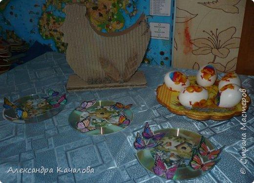 В субботу, пока варились яички и детки их украшали, доделала подставочку, которую начала делать в прошлом году. фото 7