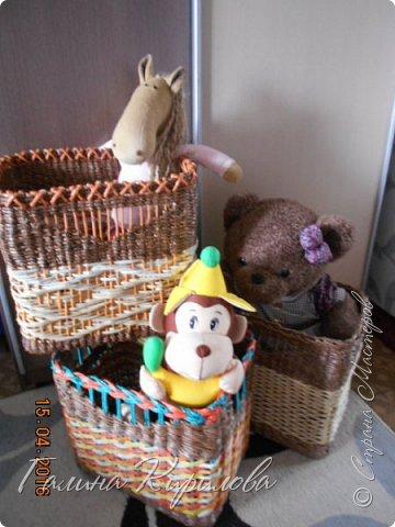 Добрый день, всем заглянувшим ко мне в гости !  Выставляю на ваш суд четыре короба под игрушки для дочери . фото 1