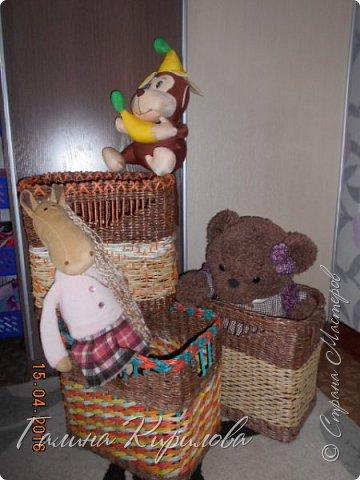 Добрый день, всем заглянувшим ко мне в гости !  Выставляю на ваш суд четыре короба под игрушки для дочери . фото 14