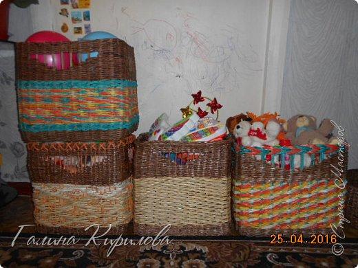 Добрый день, всем заглянувшим ко мне в гости !  Выставляю на ваш суд четыре короба под игрушки для дочери . фото 18