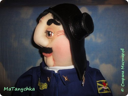 Кукла-бар...ЛЁТЧИК! фото 7