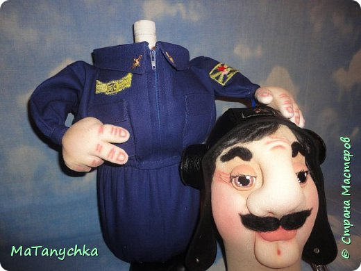 Кукла-бар...ЛЁТЧИК! фото 10