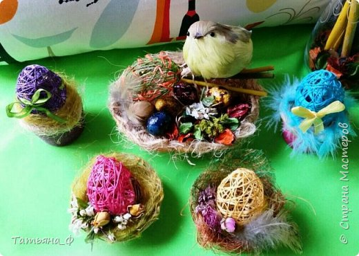 Декоративные поделки к пасхе фото 3