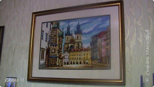Старинный город,40*60(без оформления) фото 1