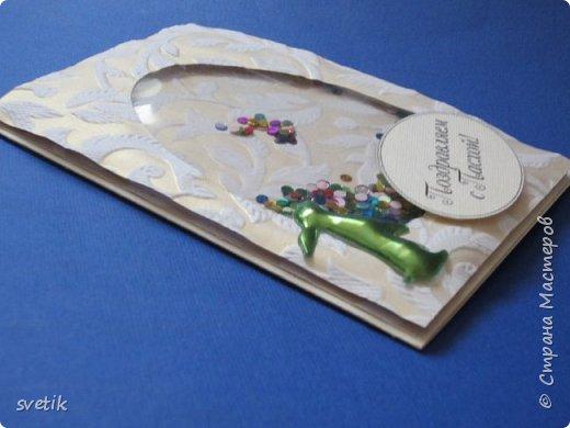 """Не """"отпускают"""" меня открытки- шейкеры)) На днях сделала пасхальные открытки для подружек дочки фото 3"""