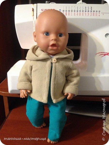 И очередная домашняя работа для детского сада, сшить одежду для пупса и  вот результат кропотливой работы фото 5