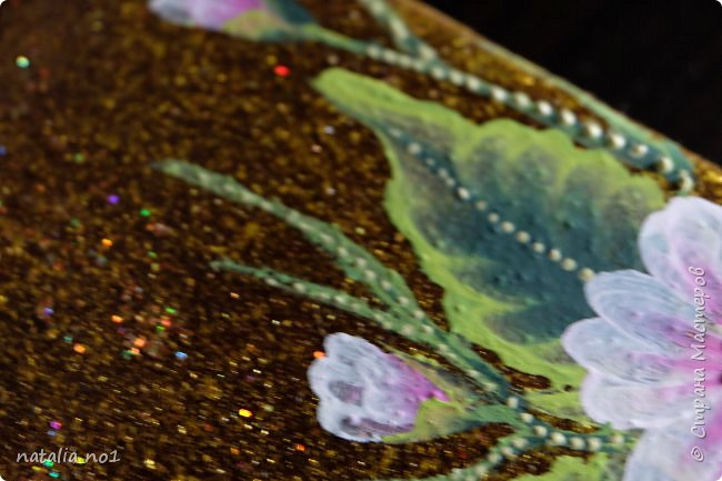 """И ещё раз здравствуйте мои любимые соседи Страны Мастеров!!! Я решила научиться новой технике росписи """"One Stroke"""" у профессионального художника Ирины Киприяновой. Это итог первого занятия. Муж не поверил что так можно научиться рисовать за одно занятие (пока не показала тренировочные черновики))) фото 7"""