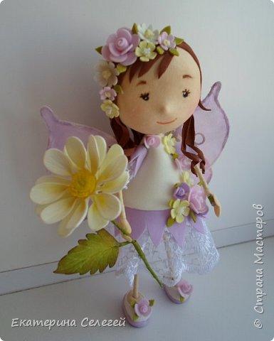 моя первая кукла из фоамирана фото 1