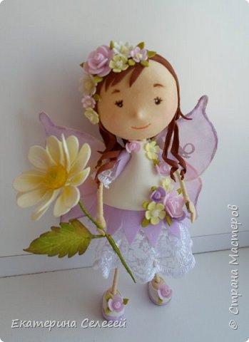 моя первая кукла из фоамирана фото 2