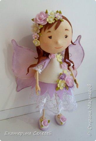 моя первая кукла из фоамирана фото 3