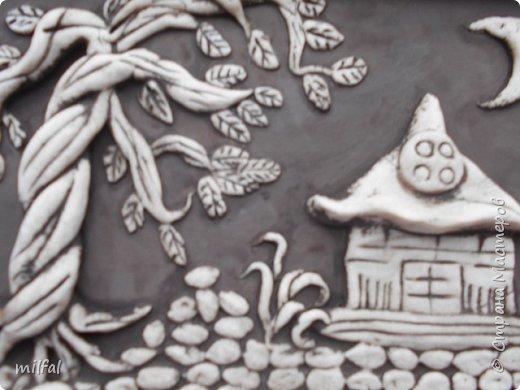 Трио-композиция на стол.Выполнена из солёного теста. фото 3