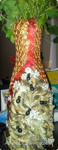 ваза с ракушками
